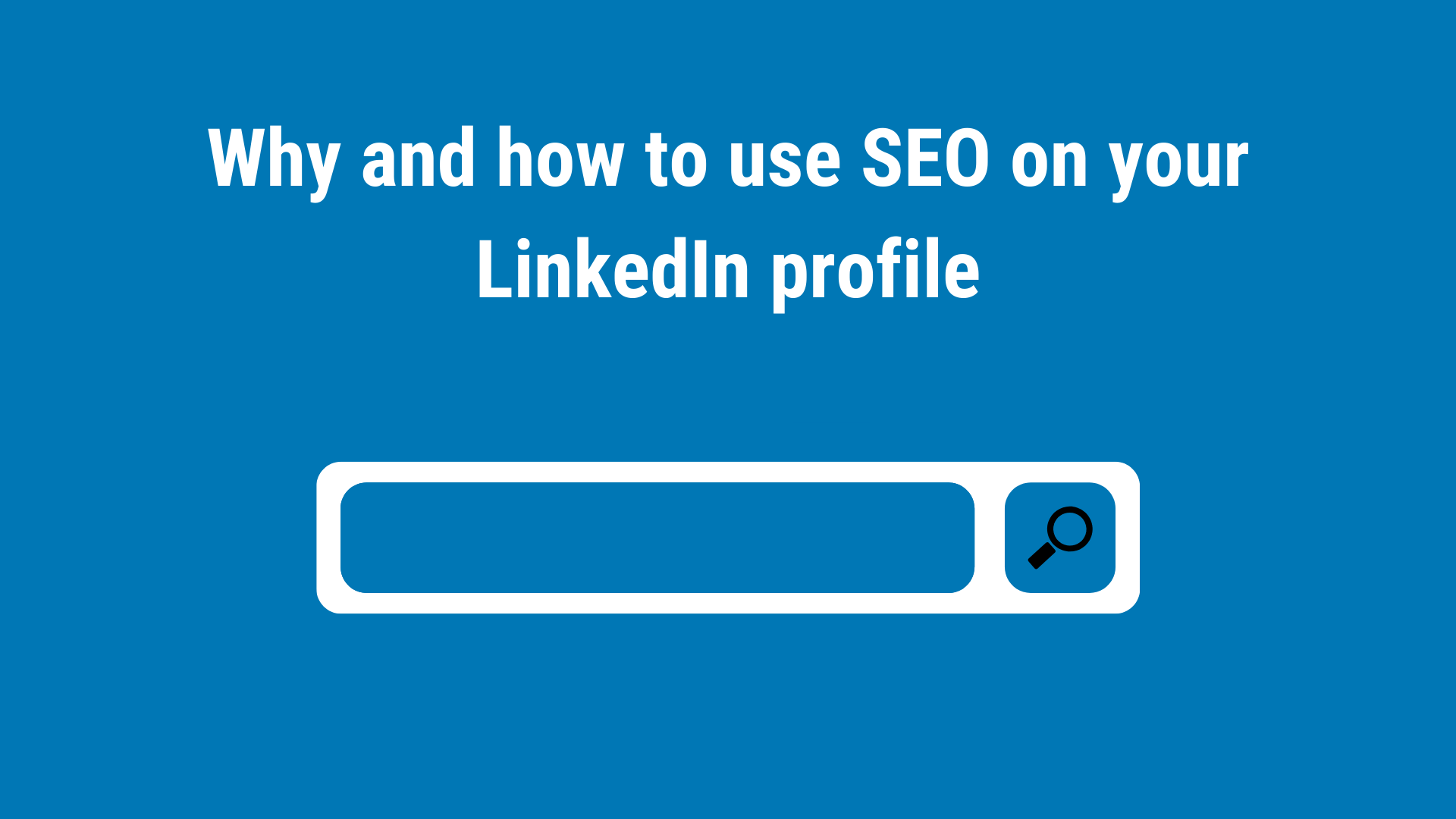 How To Optimise Your LinkedIn Profile (1)