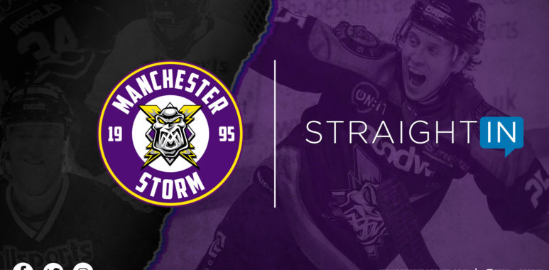 StraightIn x Manchester Storm